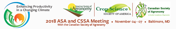 ASA, CSSA, and CSA International Annual Meeting (2018)
