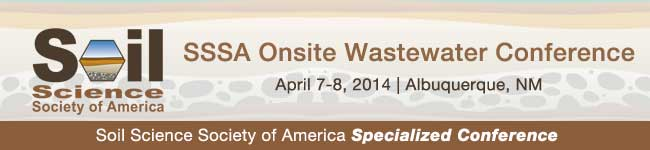 Innovation In Soil Based Onsite Wastewater Treatment: https://www.soils.org/meetings/specialized-conferences/onsite-wastewater
